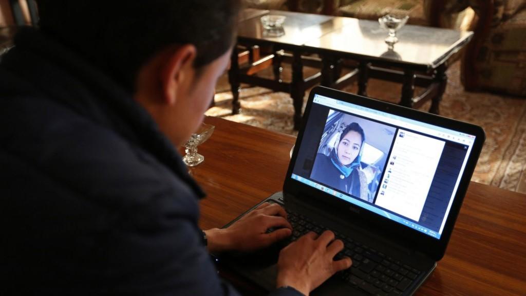 Afghans fall in love on Social Media